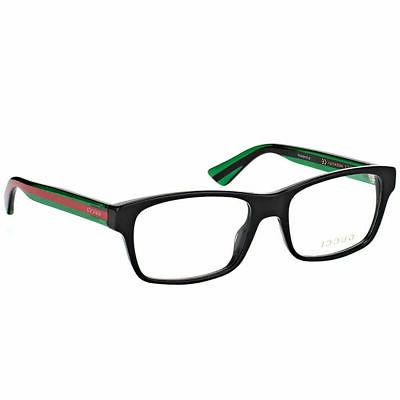 new authentic gg0006o 006 black plastic rectangle