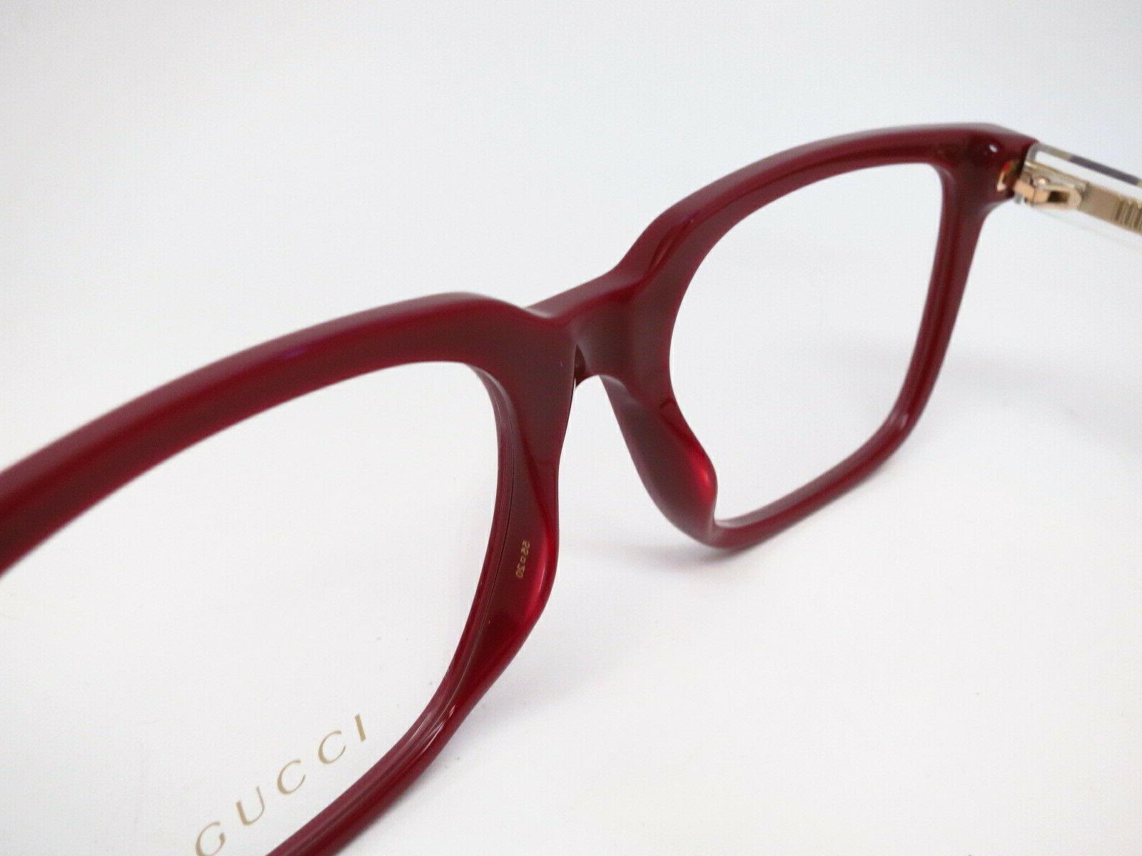 New Authentic Gucci 007 Eyewear 55mm Rx-able