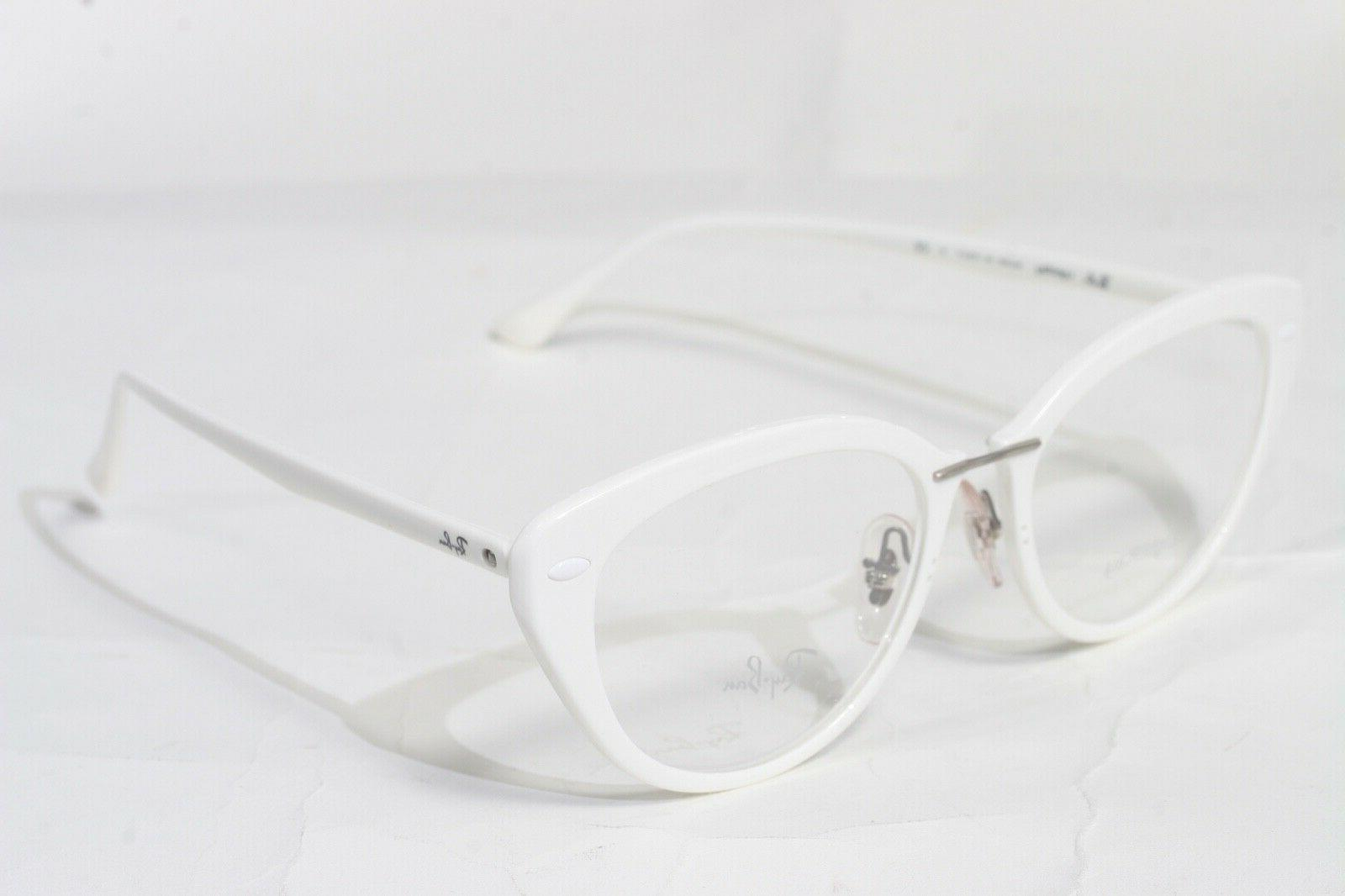 New Authentic Ray Ban Cat Eye RX Eyeglasses 7088 5618 Gloss
