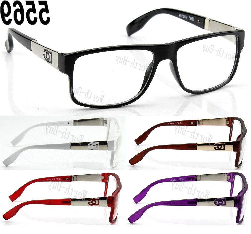 new dg clear lens frame eye glasses