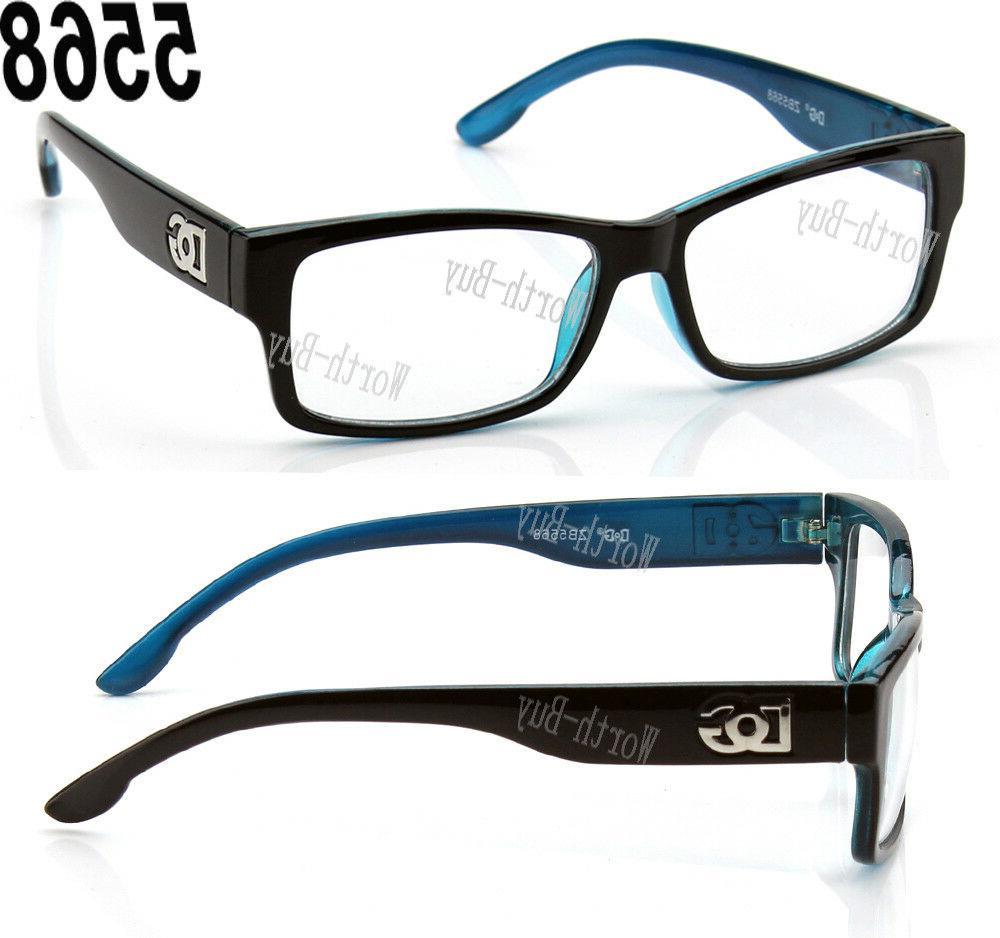 New DG Clear Lens Square Eye Designer Womens Retro
