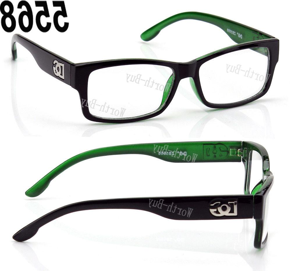 9cf59ca1cee9 New DG Square Frame Eye Designer Mens Retro RX
