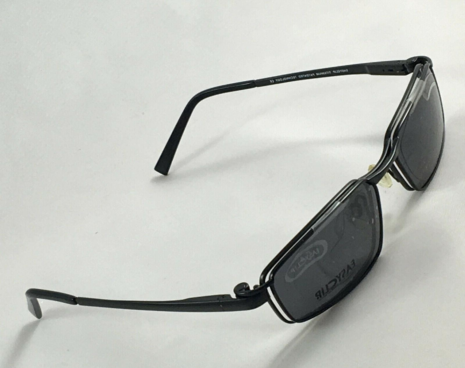 Men's Eyeglasses Clip On Sunglasses 55-17-140