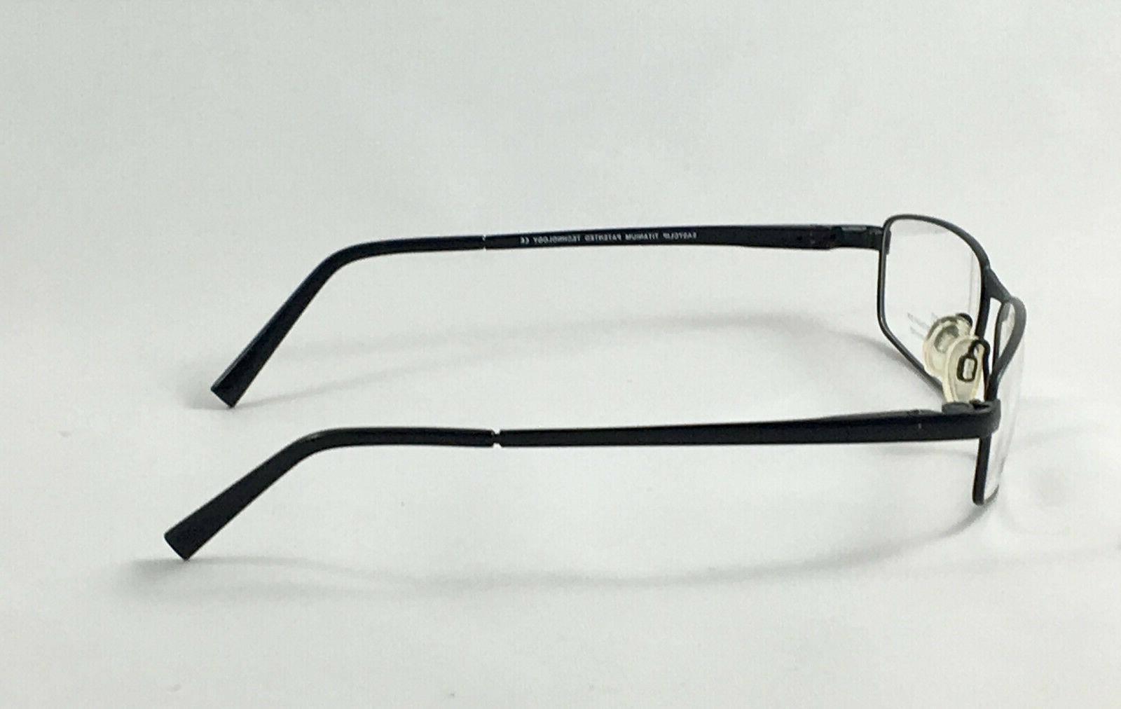 New EC184 90 Men's Eyeglasses W/ Clip On Sunglasses