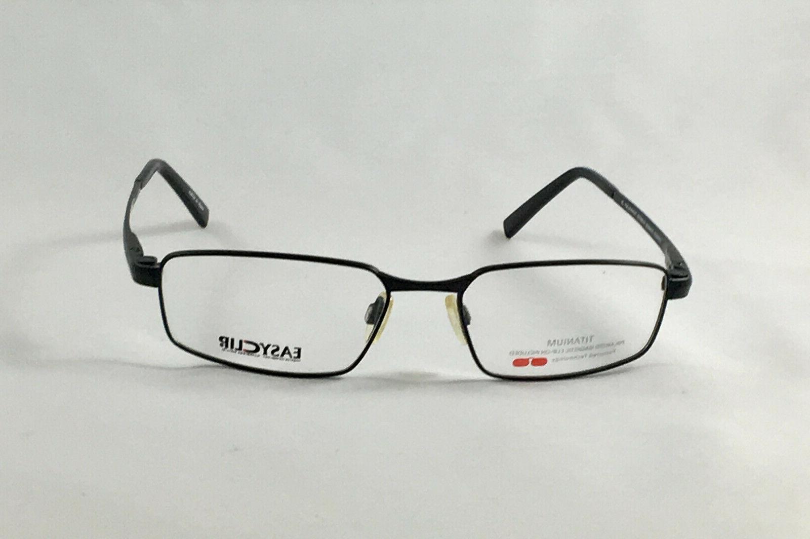 New EASYCLIP Men's Eyeglasses On