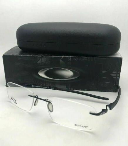 New 3.1 OX5126-0154 Matte Black Rimless Frames