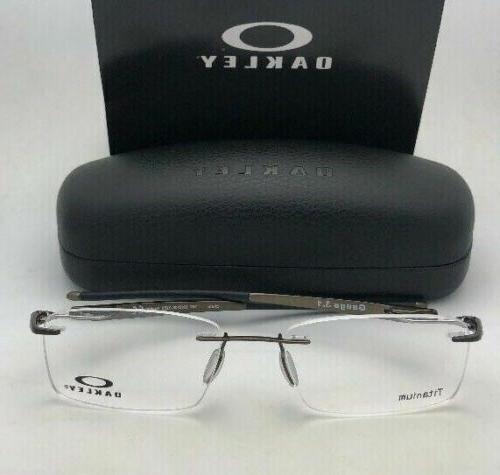 New OAKLEY Eyeglasses 3.1 OX5126-0252 Pewter Rimless