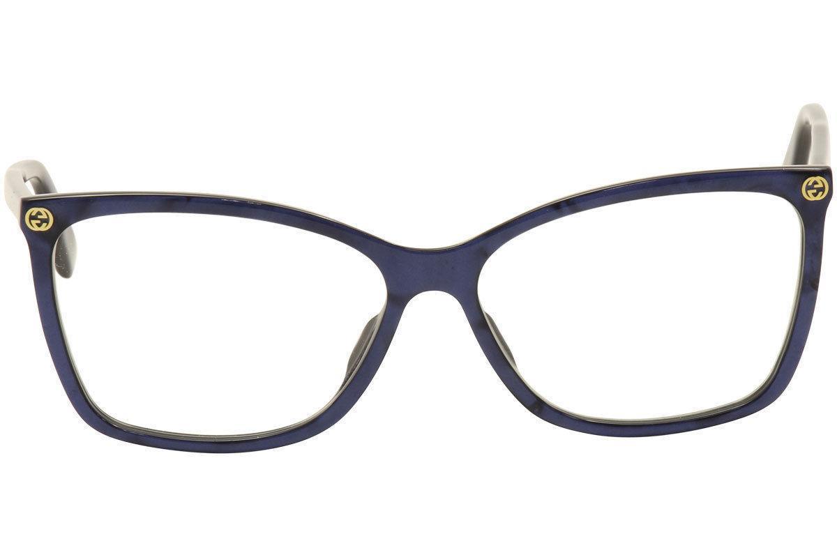 NEW GUCCI 0025O SIZE BLUE