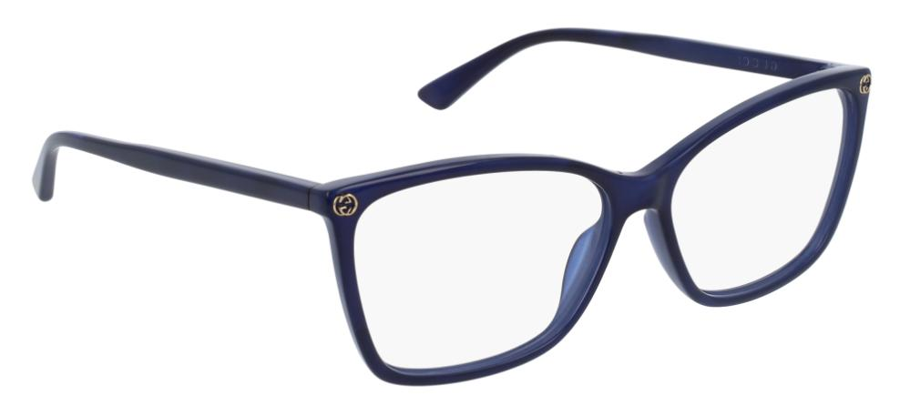 new eyeglasses gg 0025o 005 size 56