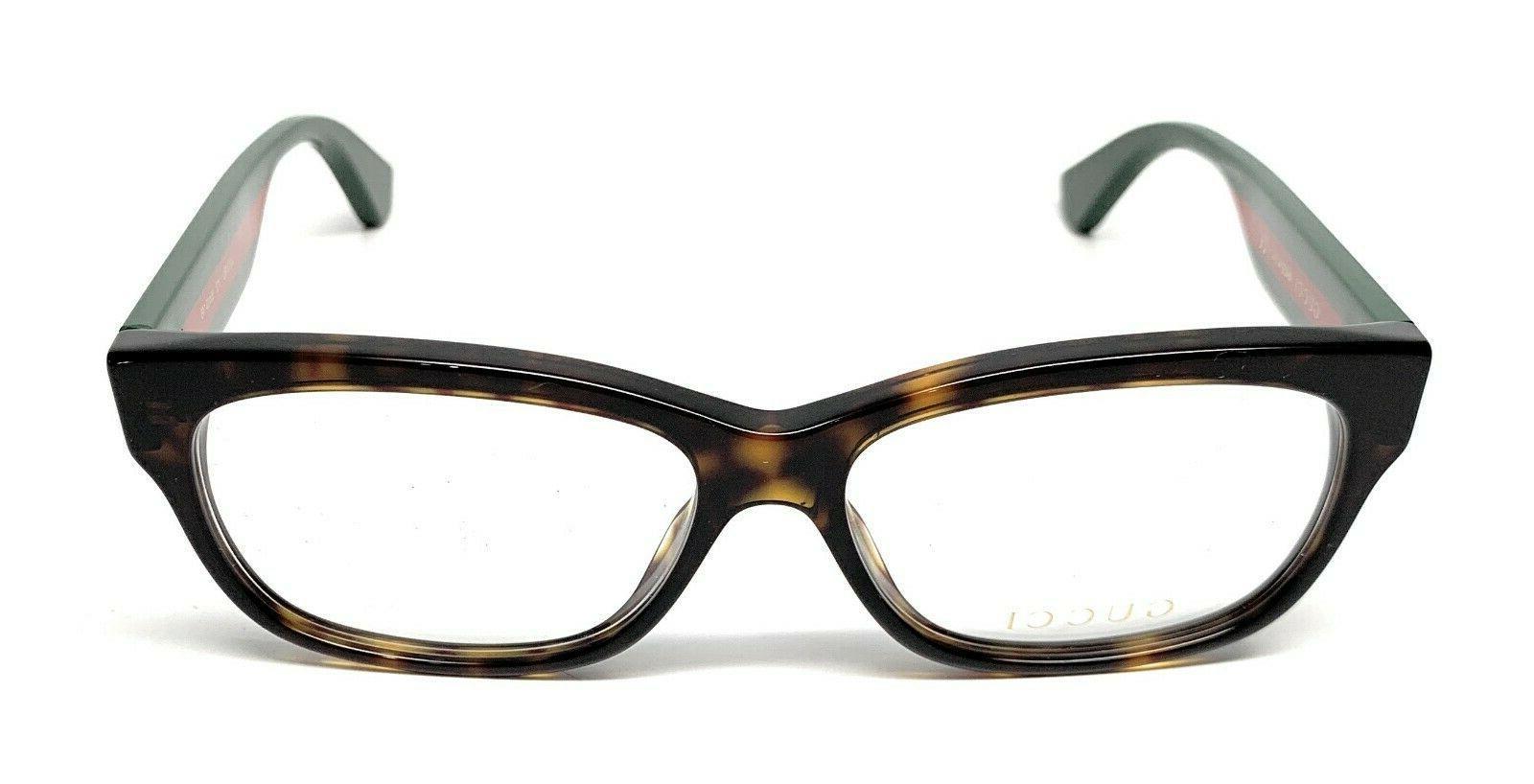 New Gucci 012 Havana Eyeglasses