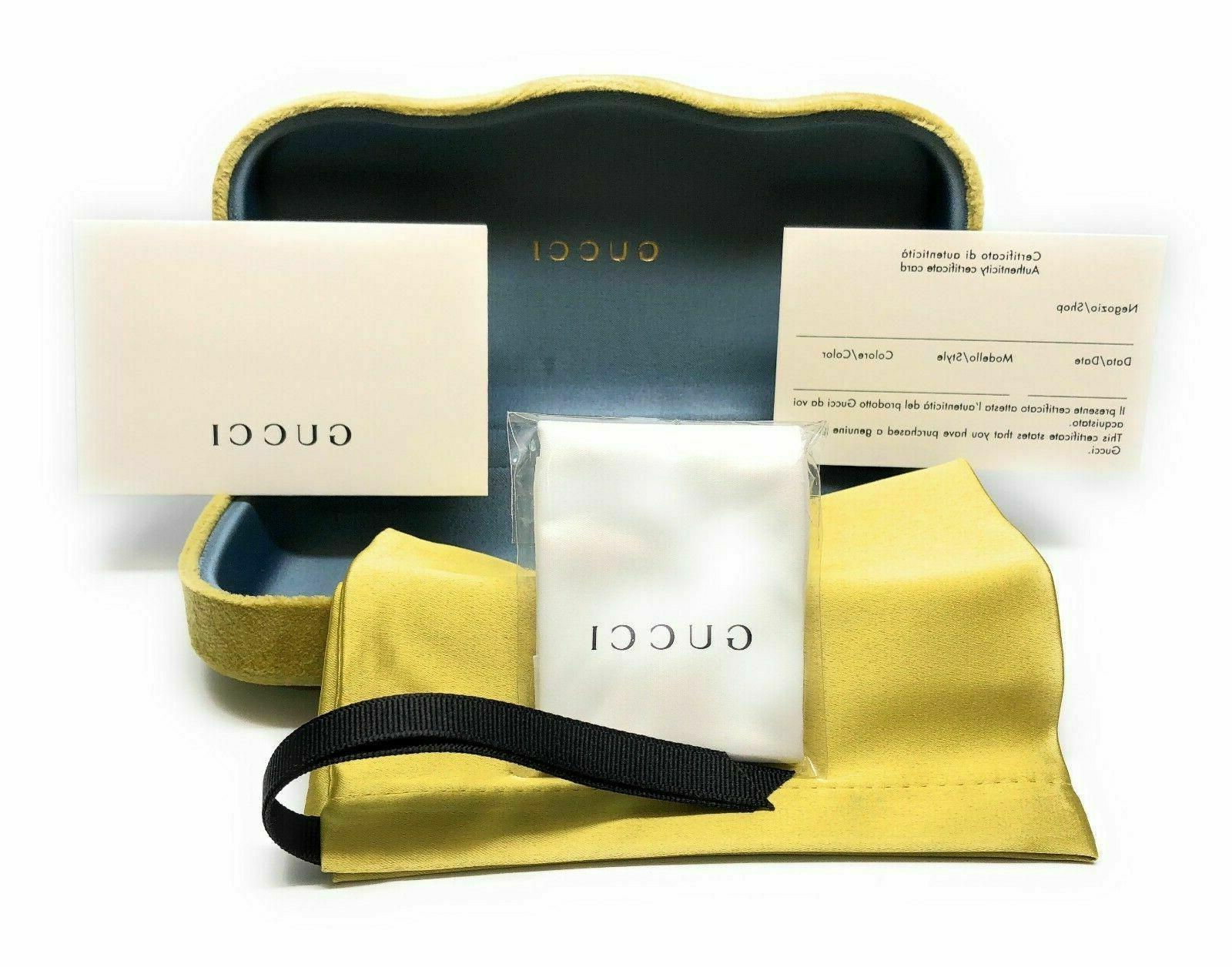 New Gucci 0373-O 004 Eyeglasses 52-16-A3