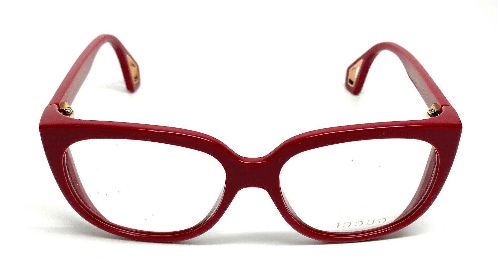 New Gucci 004 Burgundy Eyeglasses