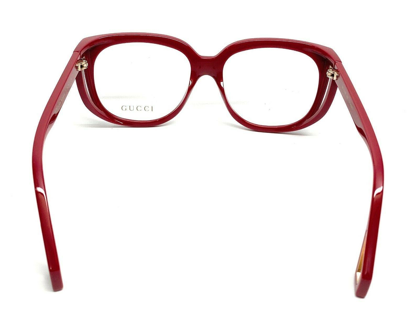 New Gucci 004 Burgundy Women's Eyeglasses Frame