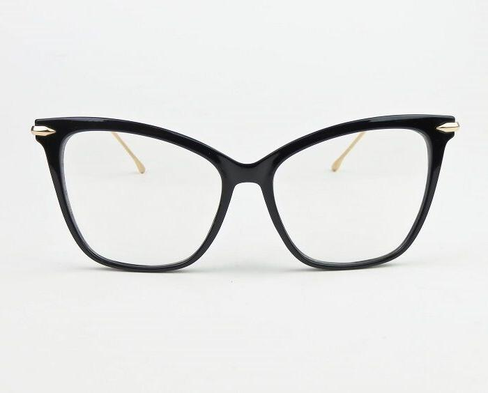 Large Square Gold Fearless Frames 6970