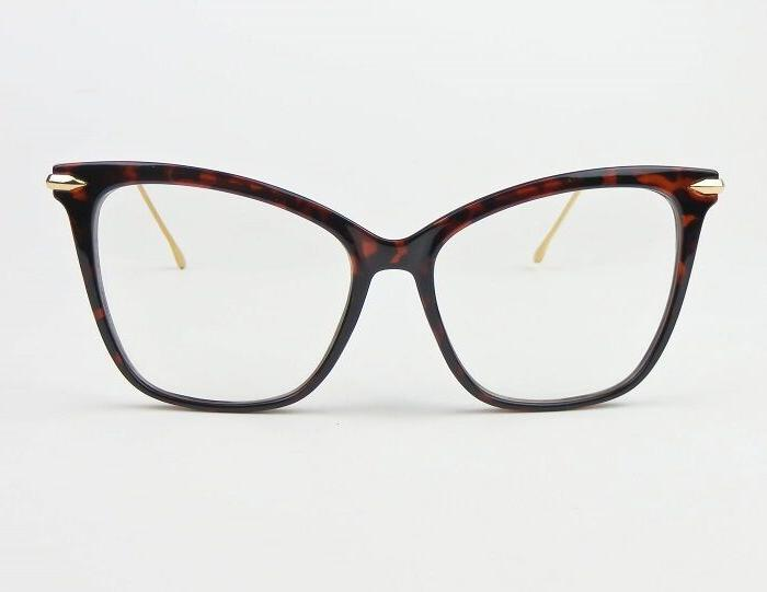 Large Square Cat Gold Frames 6970