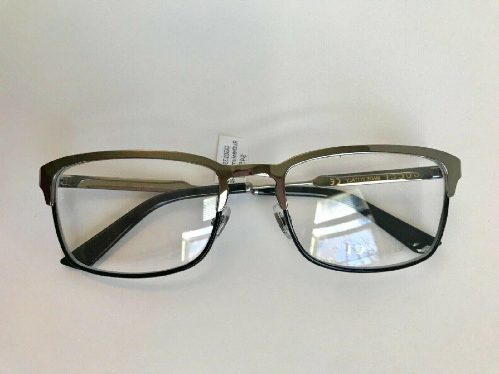 NEW GUCCI 006 EYEGLASSES w/ WEB ARMS