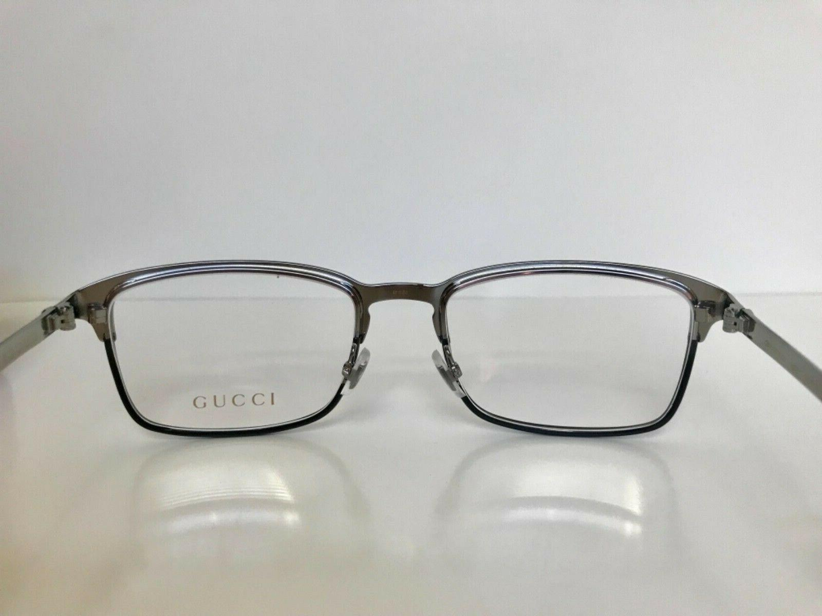 NEW 006 BLACK EYEGLASSES w/ ARMS
