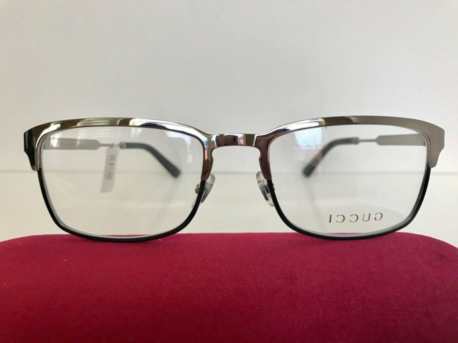 NEW MEN 006 SILVER EYEGLASSES WEB ARMS