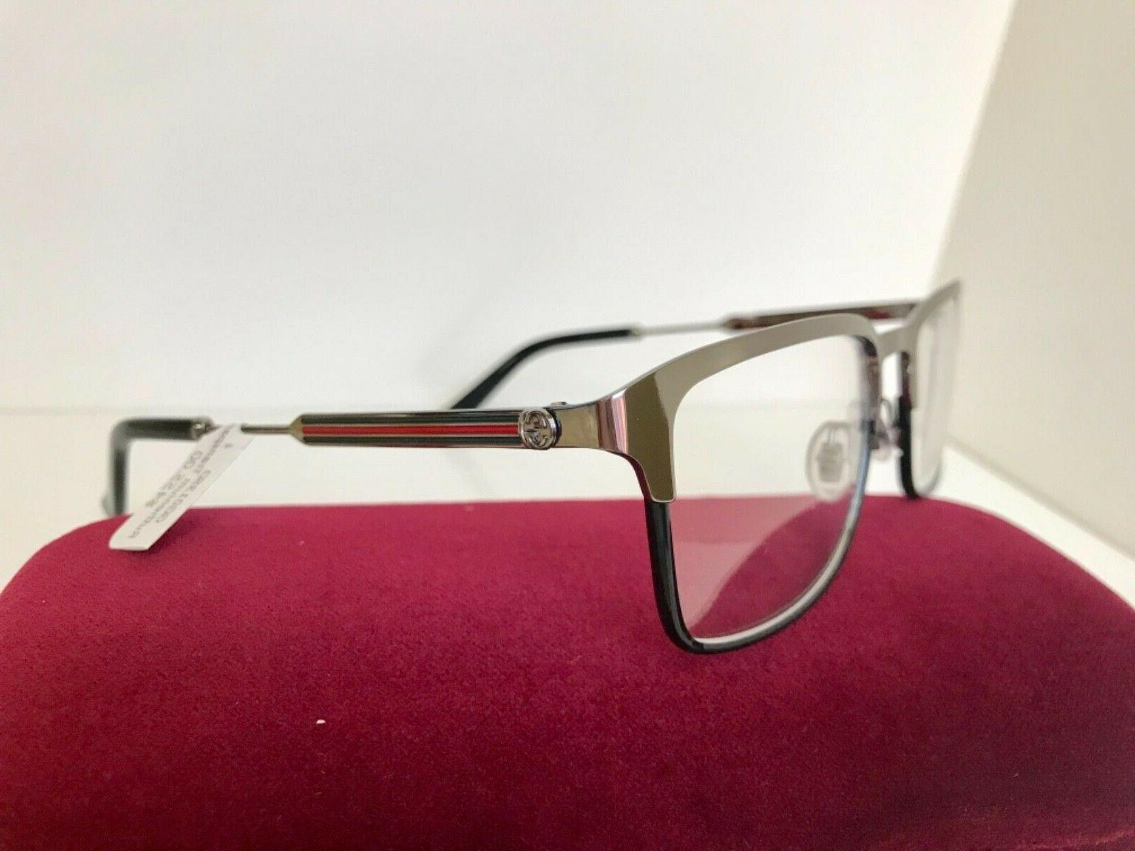 NEW GUCCI EYEGLASSES WEB ARMS