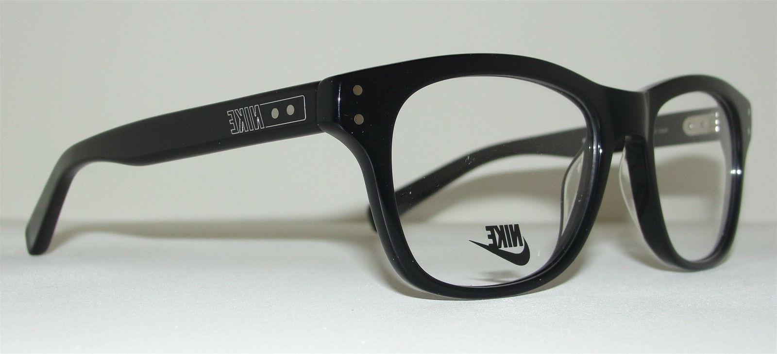 NEW NIKE MENS 7203 010 BLACK RETRO FRAMES