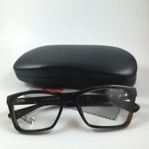 NEW RAY-BAN RB 5316 EYEGLASSES FRAME TORTOISE 53 MM ITALY