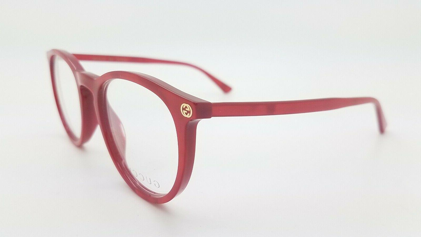 NEW Frame Glasses Red GG0027O 004 50mm 0027O