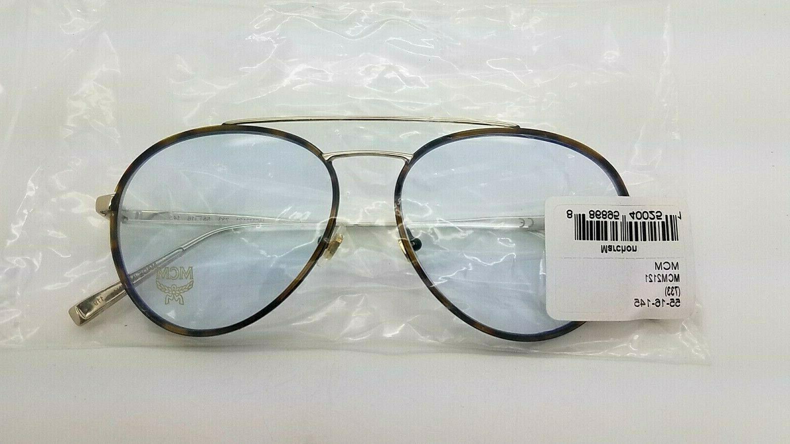 NEW RX Frame Shiny Gold MCM2121 733 55mm GENUINE 55-16-145