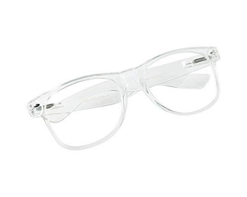 New Wayfarer Clear Glasses Chic