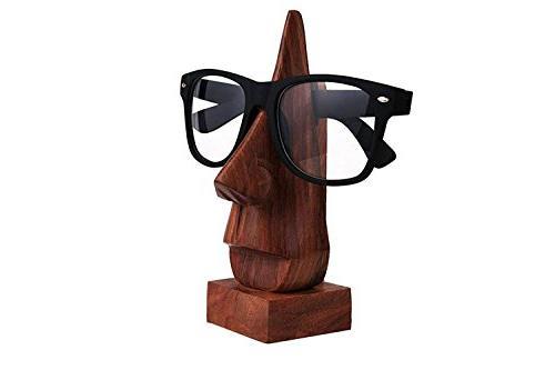nose shaped eyeglass handmade holder
