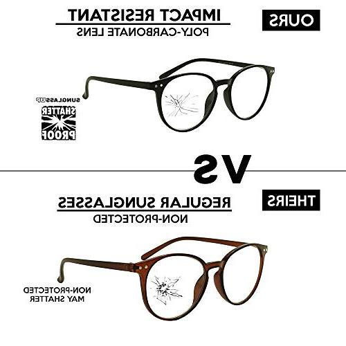 Original Prescription Magnification Eye Glasses Rx +150 +175 +200 +2.25 +250