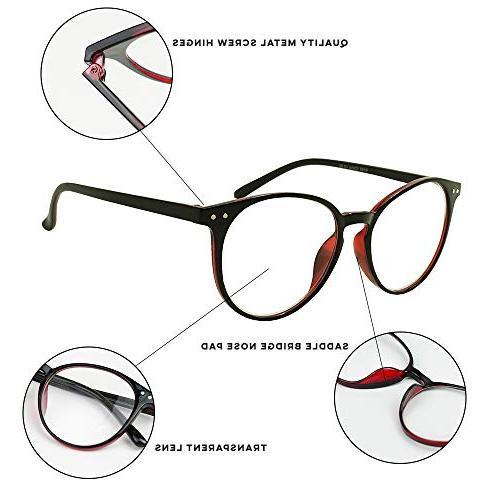 Original Vintage Prescription Magnification Reader Glasses Rx +150 +175 +250 +300