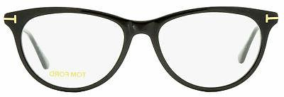 Tom Oval Eyeglasses TF5509 Black/Gold FT5509