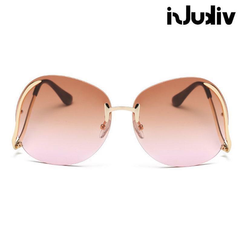 Oversized Eyeglasses Sunglasses Rimless