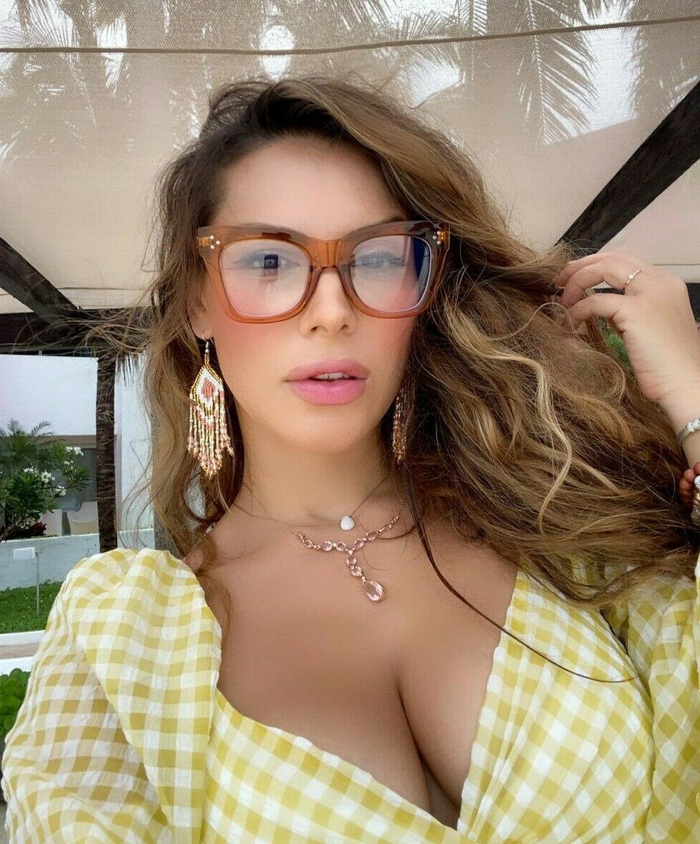 Oversized thick frames Women Lens Shadz SQUARE