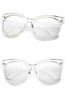 Oversized XXL Square EYE Women Eyeglasses Fashion Frames XL