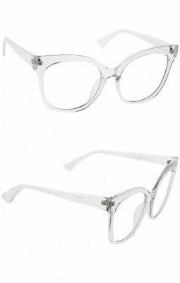 Oversized XXL CAT EYE Lens Women Fashion Frames XL