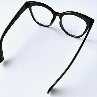 Oversized XXL Square EYE Large Clear Lens Women Fashion XL