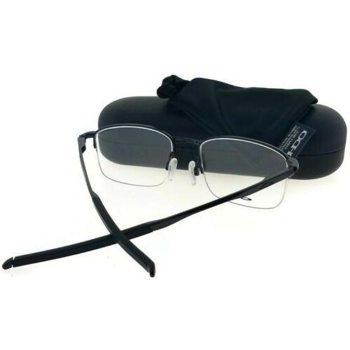 Oakley OX3202-02-52 Black Frame Genuine Eyeglasses NWT