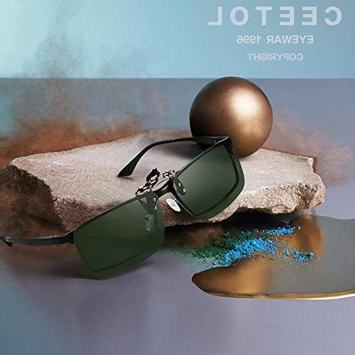 Polarized Sunglasses,Unisex Metal Frameless Lens Eyeglass For Fishing Outdoor Sport Sunglasses Men