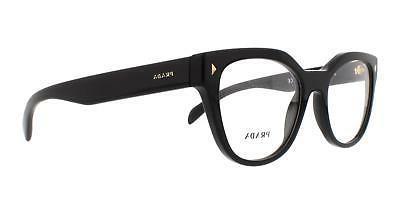 Prada PR 21SV Eyeglasses 1AB1O1 Black