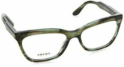Prada PR 24SV Journal Eyeglasses UEP1O1 Yellow