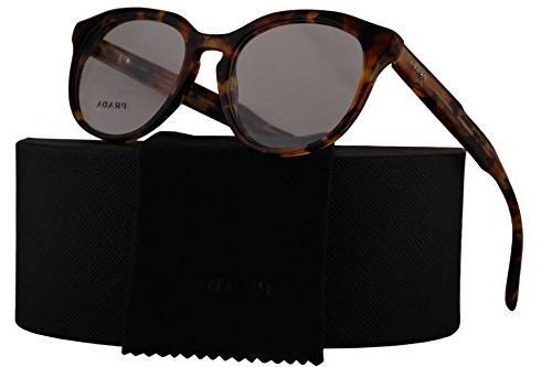 pr13sv journal eyeglasses 50 18 140 brown