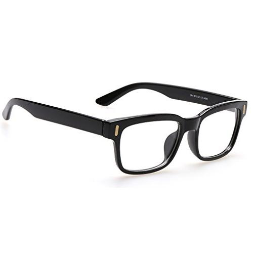 premium unisex retro square frame eyeglasses fashion