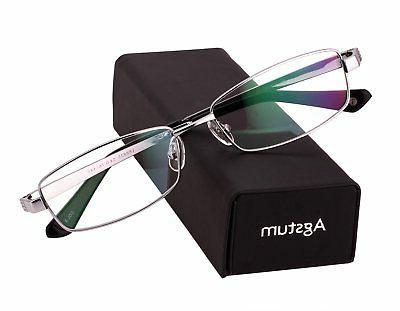 pure titanium full rim glasses frame optical