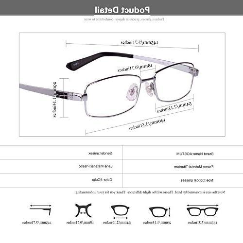 Agstum Rim Eyeglasses Rxable