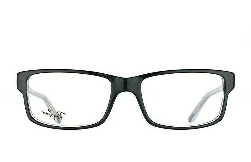 RAY BAN black/transparent RB5245 2034 54-17 EYEGLASSES NEW IN