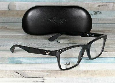 RAY BAN Eyeglasses 7025 in color 2000 in size: 55-17-145