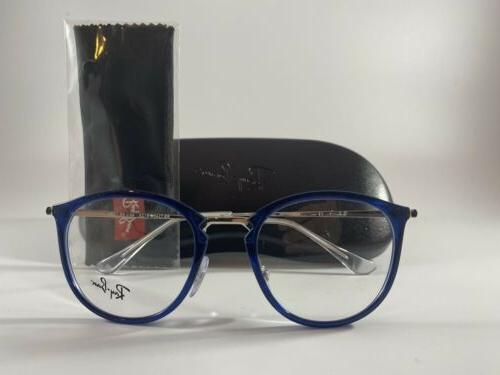 Ray Ban Eyeglasses NEW RB Blue Size 49-20
