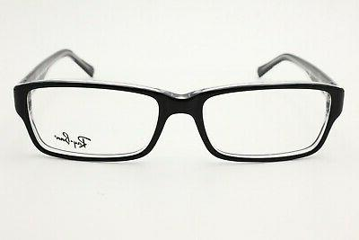 rb 5169 2034 black on clear eyeglasses