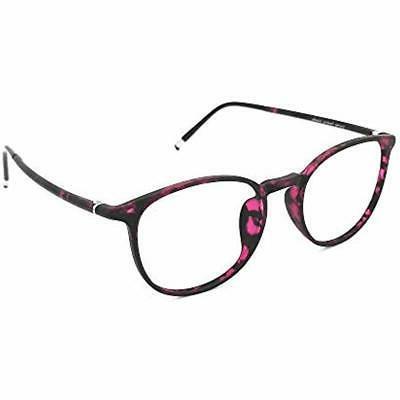 Reading Glasses 0.25 Violet Tortoise Round Women, Light